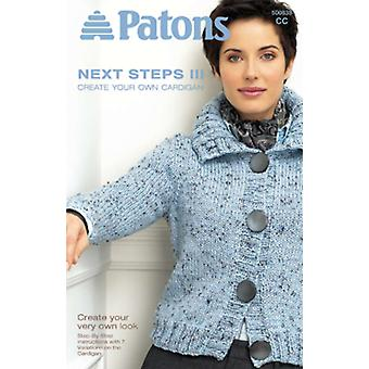 Patons Next Steps Three: Create Cardigan Pa 838