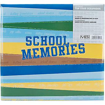 School Memories Postbound Scrapbook Album 12
