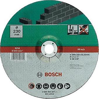 Cutting disc with depressed centre, stone Bosch Accessories 2609256326 Diameter 180
