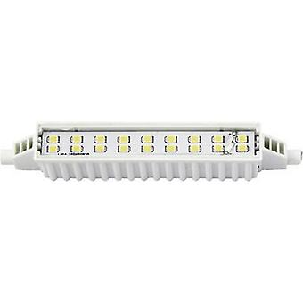 Blanco cálido W de 6 Tubular LED R7s (Ø x L) 16,50 x 118 mm EEC: LightMe de a + 1 PC
