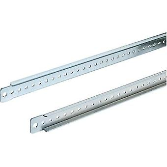 Rittal 4695.000 TS Mounting Board Sheet steel, galvanised, chrome-plated