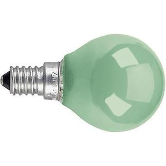Light bulb 74 mm OSRAM 230 V E14 11 W Green Teardrop shape dimmable Content 1 pc(s)