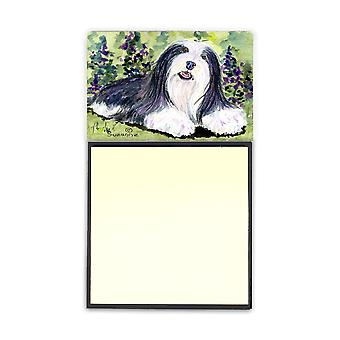 Bearded Collie Refiillable Sticky Note Holder or Postit Note Dispenser SS8816SN