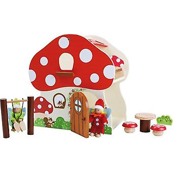 Legler Mushroom House (Toys , Dolls And Accesories , Miniature Toys , Stages)