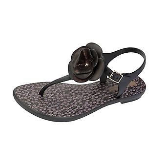 Grendha Bouquet Sandal Womens Flip Flops / Sandals - Black