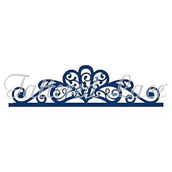 Tattered Lace Flourish Header Die