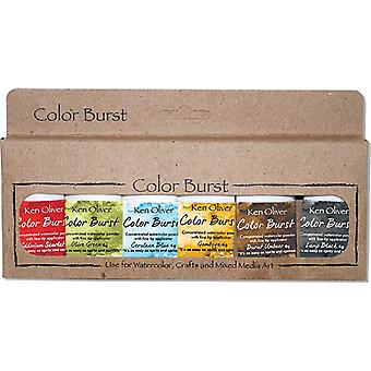 Ken Oliver Color Burst Powder 6/Pkg-Moroccan KNCPW6-7069
