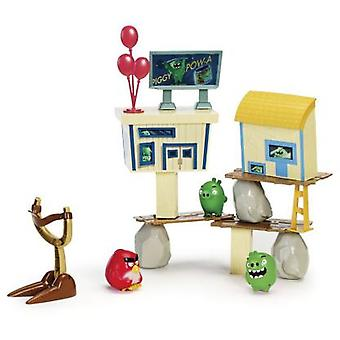 Bizak Angry Birds - Pig City Strike Playset (Toys , Action Figures , Stages)
