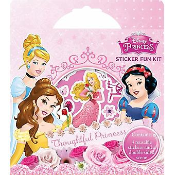 Disney Princess Sticker Fun Kit Childrens Party Activity Craft Set