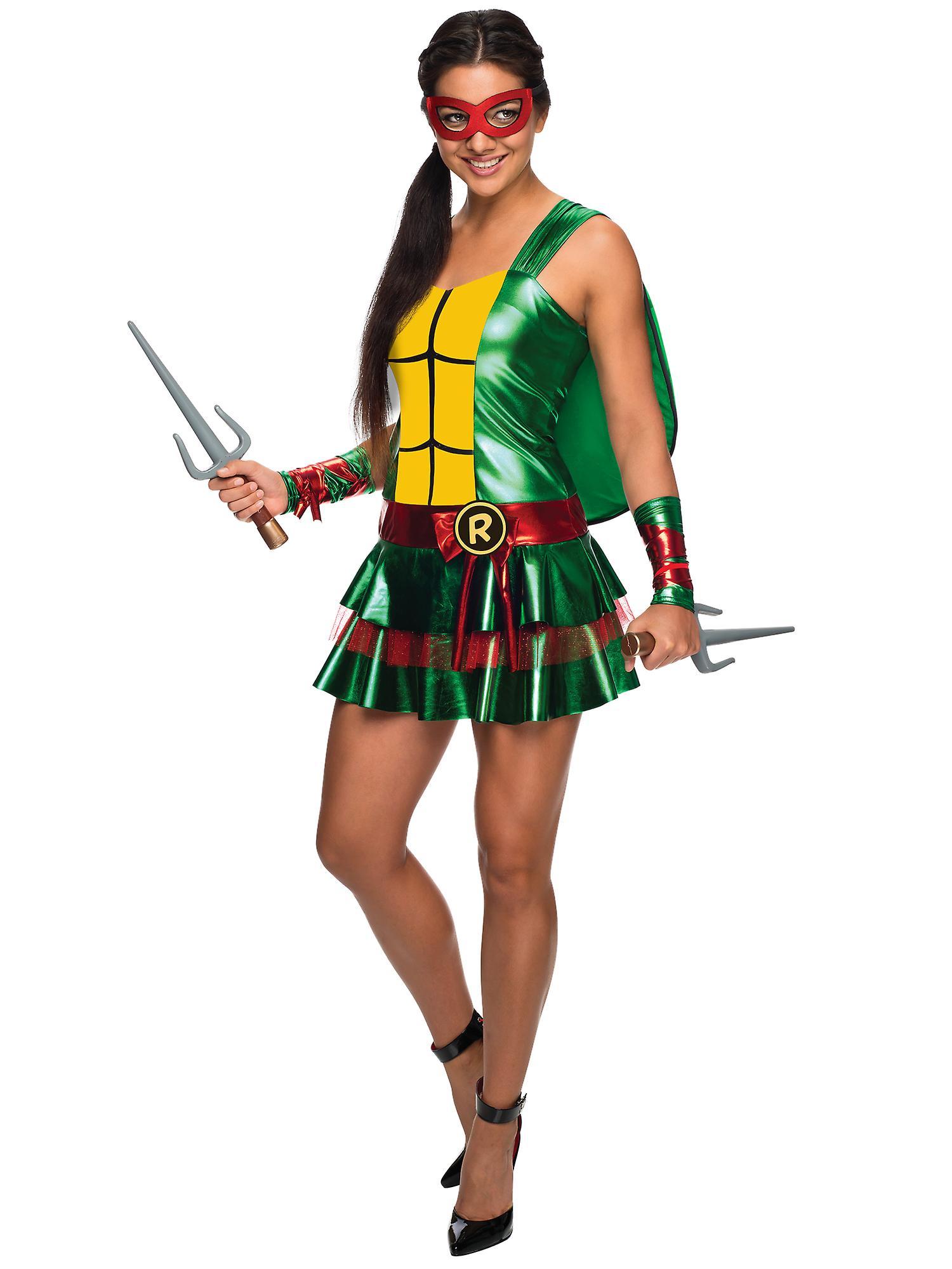 raphael raph sexy kleid teenage mutant ninja turtles superhelden frauen kost m fruugo. Black Bedroom Furniture Sets. Home Design Ideas
