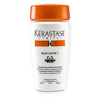 Kerastase Nutritive Bain Satin 1 Exceptional Nutrition Shampoo (For Normal to Slightly Dry Hair) 250ml/8.5oz