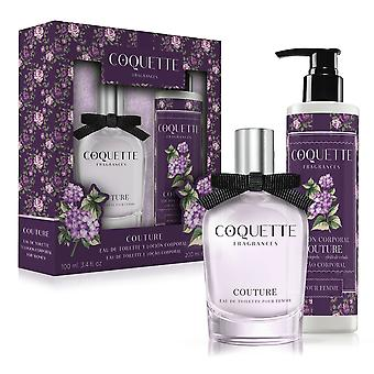 Coquette i September Couture Edt 100 Ml + Lotion 200 Ml (parfume, parfume)