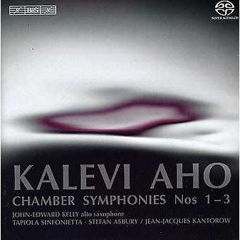 K. Aho - Kalevi Aho: Chamber Sinfonien Nr. 1-3 [SACD] USA import