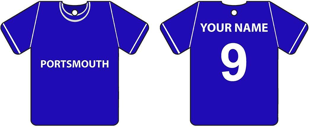 Personalisierte Portsmouth Football Shirt Auto Lufterfrischer