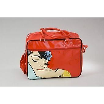 Kiss Bag Travel Students Lacquered Cool