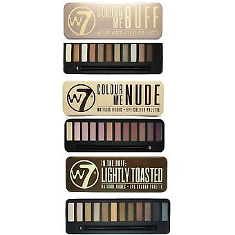 W7 Eyeshadow Palettes- (Colour Me Nude + In the Night + Lightly Toasted)