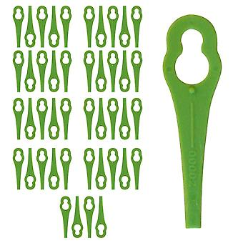 50 x Plastic Mower Cutting Blades Fits Gtech ST04 ST05 Strimmer Trimmer QT028