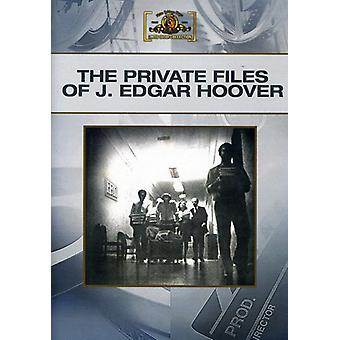 Private Files of J. Edgar Hoover [DVD] USA import