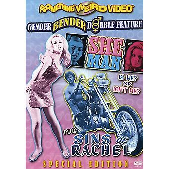 Ze-Man/zonden van Rachel [DVD] USA importeren