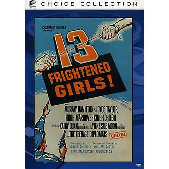 13 Frightened Girls [DVD] USA import