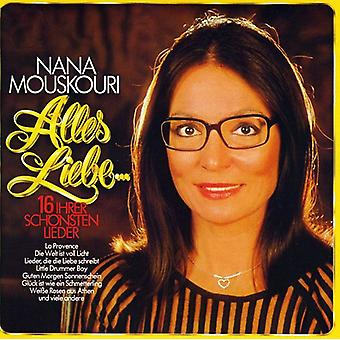 Nana Mouskouri - Alles Liebe [CD] USA import