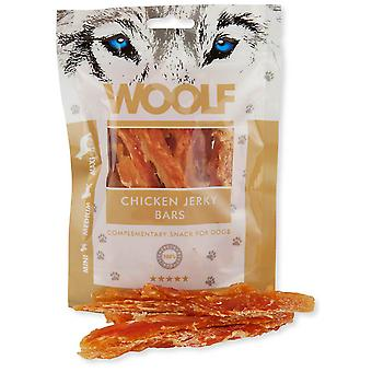 Woolf Chicken Jerky Bars (Dogs , Treats , Eco Products)