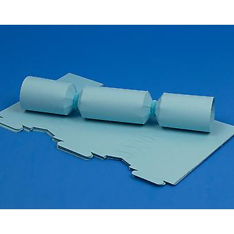 12 MINI Pale Blue Make & Fill Your Own Cracker Boards