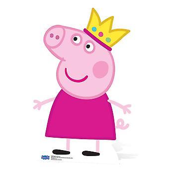 Prinsesse Peppa Pig pap påklædningsdukke / Standup / Standee