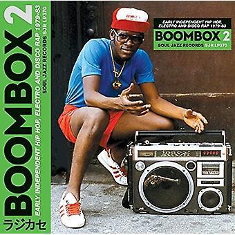 Soul Jazz Records præsenterer - Boombox 2: Tidlig uafhængige Hip Hop Electro [CD] USA import
