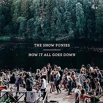 Pony's - hoe het alle Goes Down [CD] USA import