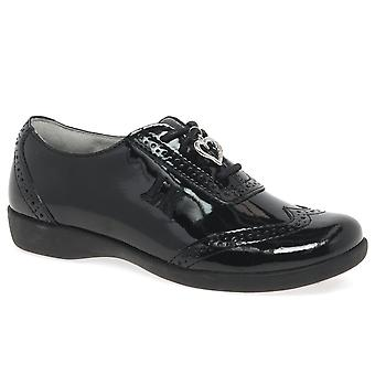 Lelli Kelly Kimberley Lace Girls Brogue School Shoes