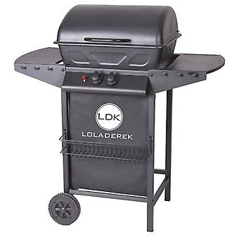Ldk Barbecue Annika Barbecue Gas 2 Burners Annika Steel 82145
