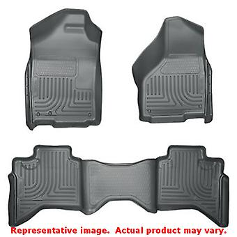 Husky Liners 99012 grå WeatherBeater Front & 2 sits passar: DODGE 2009-2010
