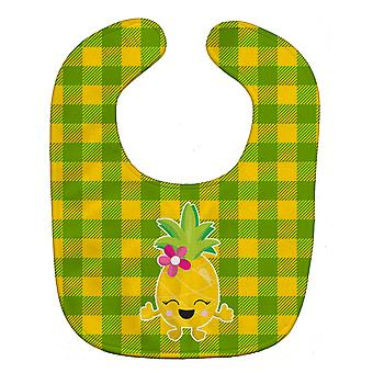 Carolines Treasures  BB8963BIB Pineapple Girl Laughy Face Baby Bib