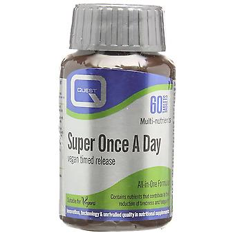 Quest Super Once-a-Day Vegan Timed Release, 60 tabs