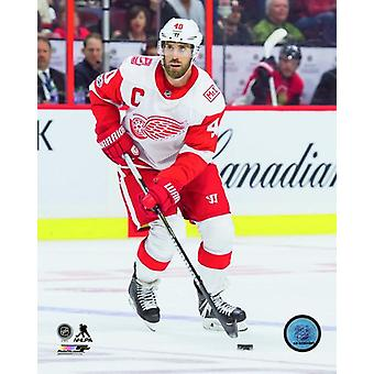 Henrik Zetterberg 2017-18 Action Photo Print