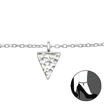 Triangle - 925 Sterling Silver Anklets - W27655x