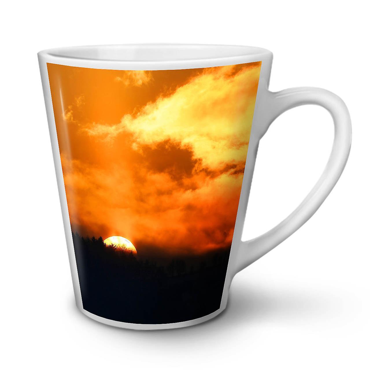 12 Café Latte Blanche OzWellcoda De Soleil En Tasse Coucher Nouvelle Céramique Horizon Nature UVzMpqS