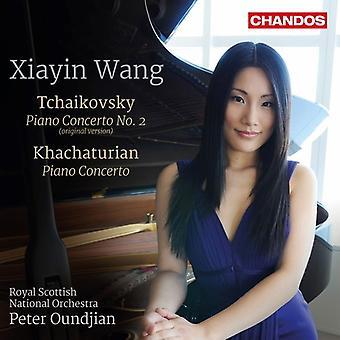 Khachaturian, Aram / Wang, Xiayin / Iwabuchi, Maya - Tchaikovsky y Khachaturian: importación de USA de conciertos para Piano [SACD]