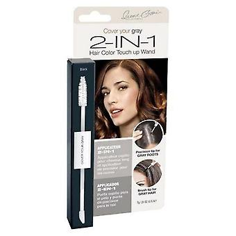Cover Your Gray 2-in-1 Wand Black