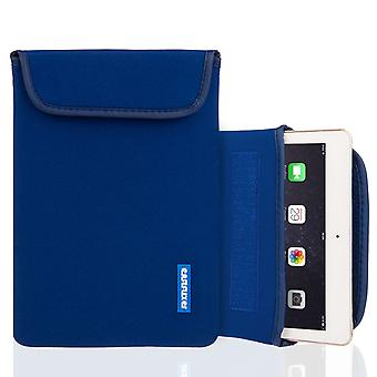 Caseflex iPad Air in Neoprene Pouch (M) - blu