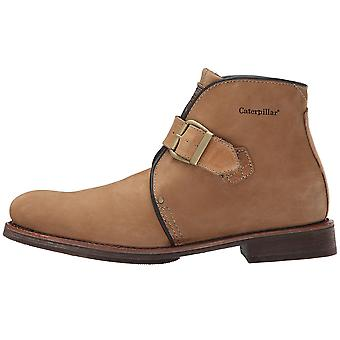 Caterpillar Mens Haverhill Leather Closed Toe Ankle Fashion Boots