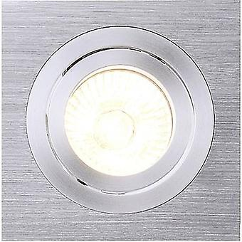 Recess-mount bracket HV halogen GU10 50 W SLV 111361 New Tria I Aluminium (brushed)