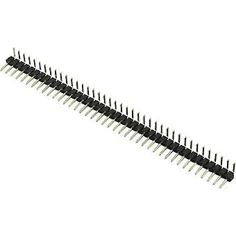Pin strip (standard) No. of rows: 2 Pins per row: 40 Connfly 1390125 1 pc(s)