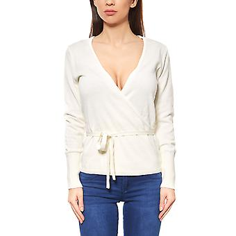 B.C.. best connections by heine wrap sweater slim white