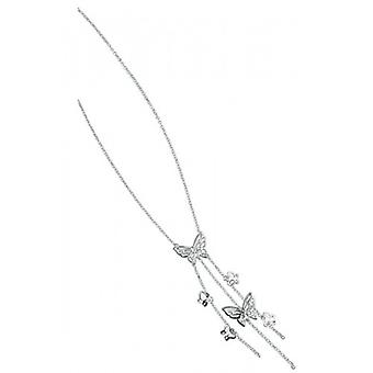Elements Silver Butterfly Necklace - Silver