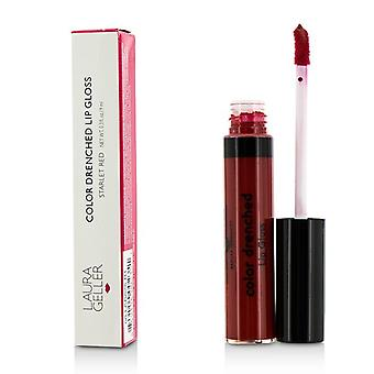 Laura Geller Color Drenched Lip Gloss - #Starlet Red 9ml/0.3oz