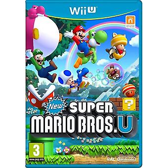New Super Mario Bros. U (Wii U) (Käytetty)
