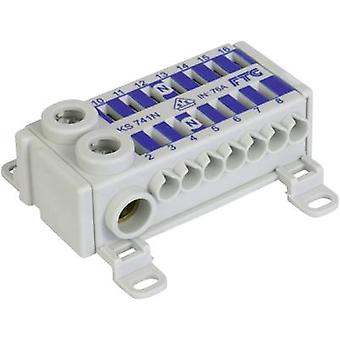Terminal block Blue 1-pin 75 A