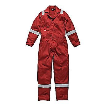 Dickies Mens arbetskläder bomull lätt Coverall Red WD2279LWR